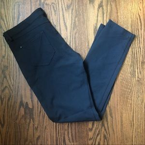 Lululemon Trouser Like Pants Size 10 Black